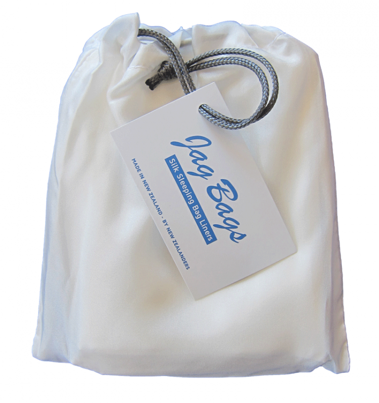 JagBag Deluxe Sleeping Bag Liner - White - SPECIAL OFFER
